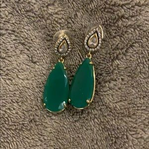 Stella and Dot Jade Earrings